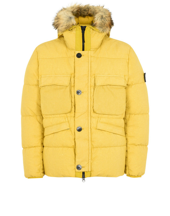 Down jacket 42833 LINO RESINATO DOWN-TC  STONE ISLAND - 0