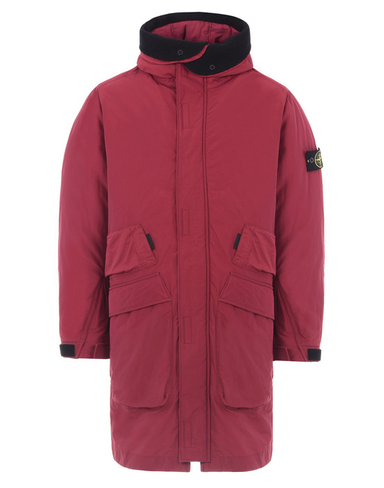 STONE ISLAND 롱 재킷 70326 MICRO REPS WITH PRIMALOFT® INSULATION TECHNOLOGY