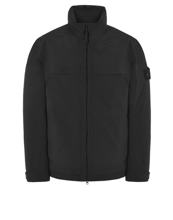 STONE ISLAND LIGHTWEIGHT JACKET 420F1 GHOST PIECE_TANK SHIELD GHOST PIECE FEATURING STRETCH MULTI LAYER FUSION TECHNOLOGY