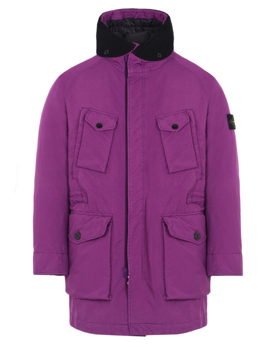 LONG JACKET 71449 DAVID-TC DOWN STONE ISLAND - 0