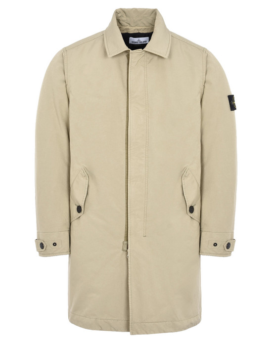 STONE ISLAND CAR COAT 70749 DAVID-TC WITH PRIMALOFT® INSULATION TECHNOLOGY