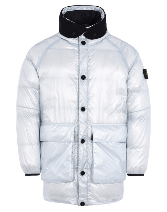 STONE ISLAND LONG JACKET 70821 PERTEX QUANTUM Y DOWN