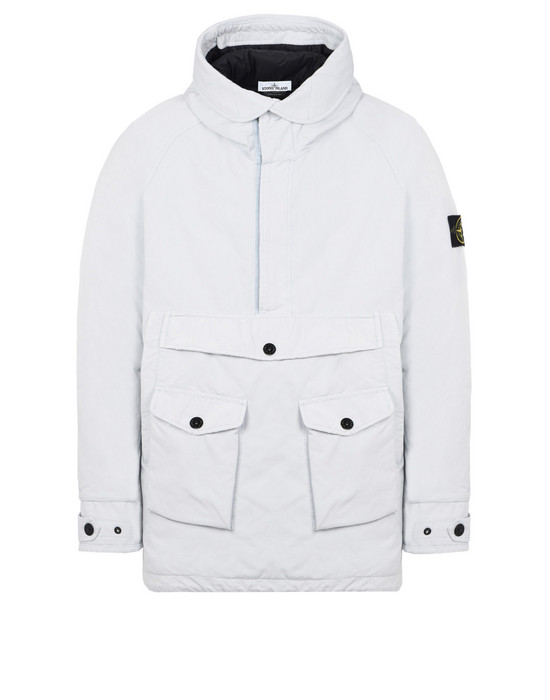 LONG ANORAK 71349 DAVID-TC WITH PRIMALOFT® INSULATION TECHNOLOGY STONE ISLAND - 0