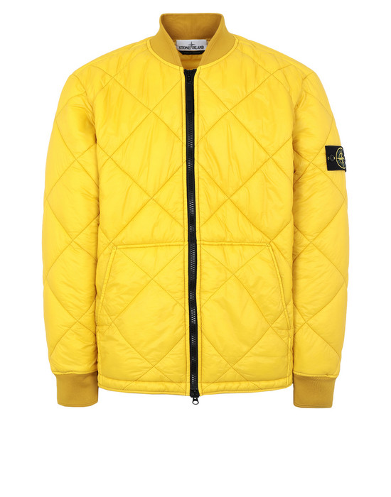 STONE ISLAND LIGHTWEIGHT JACKET Q1424 GARMENT DYED MICRO YARN DOWN