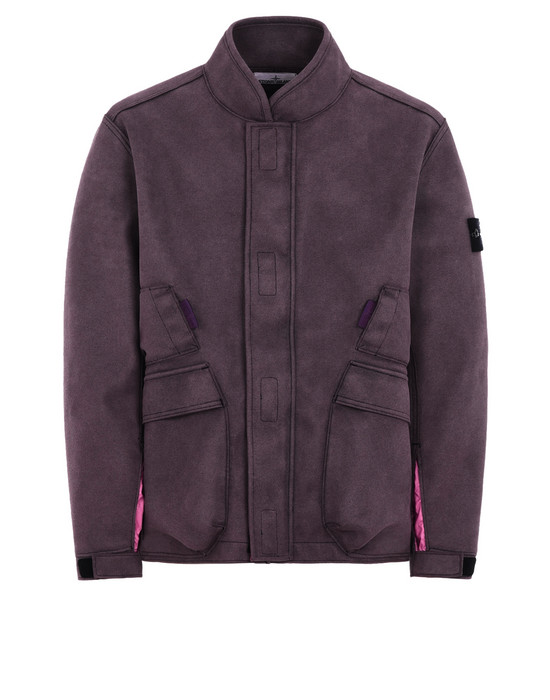 STONE ISLAND Jacket 44029 MAN MADE SUEDE-TC