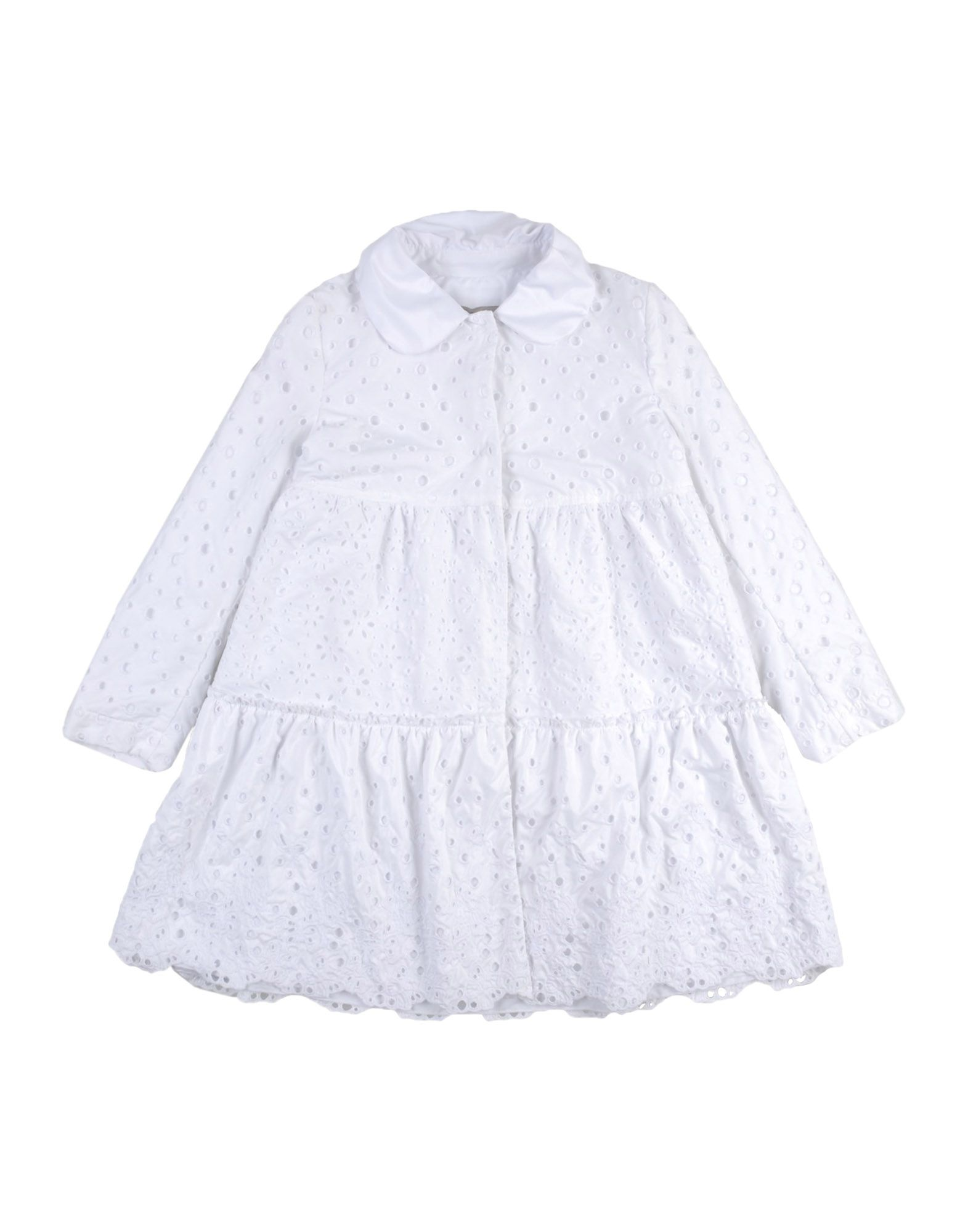 ERMANNO SCERVINO JUNIOR Coat in White