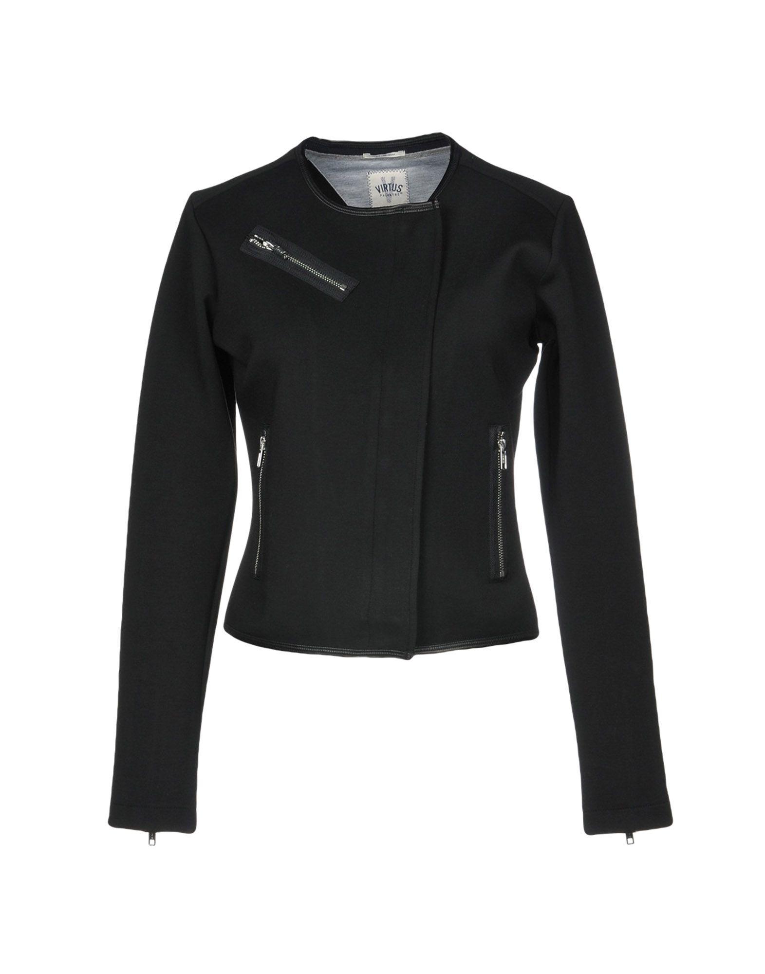 VIRTUS PALESTRE Jacket in Black