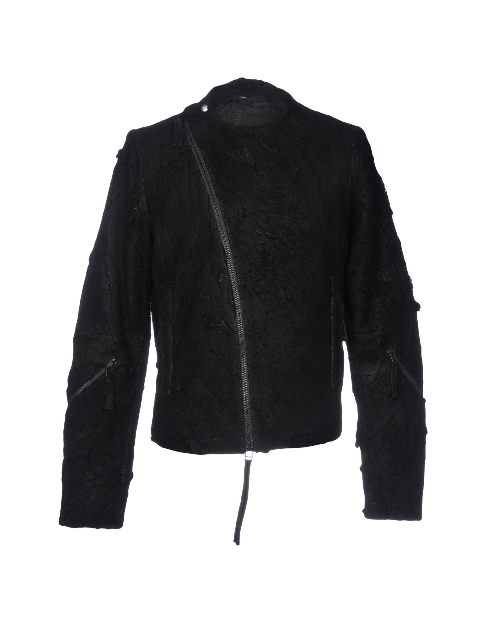 BARBARA I GONGINI Biker Jacket in Black
