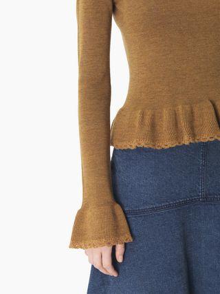 Flouncy sweater