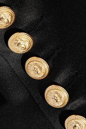 BALMAIN Silk-satin blazer