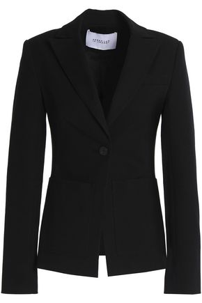 DEREK LAM 10 CROSBY Cotton-blend twill blazer
