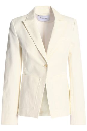 DEREK LAM 10 CROSBY Stretch-cotton gabardine blazer