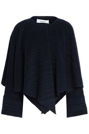 CHALAYAN Cape-effect brushed wool-blend jacket