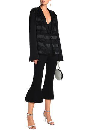 GALVAN  London Fringed jacquard jacket