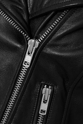 OAK NY Rider leather biker jacket