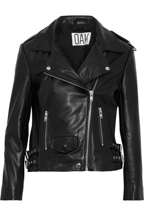 OAK NY Rider leather biker jacket