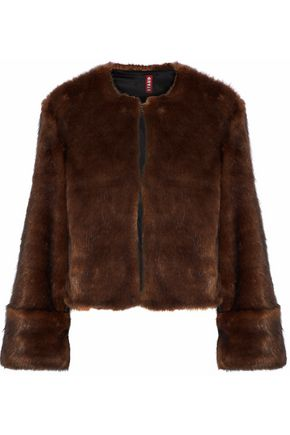STAUD Juliette faux fur jacket