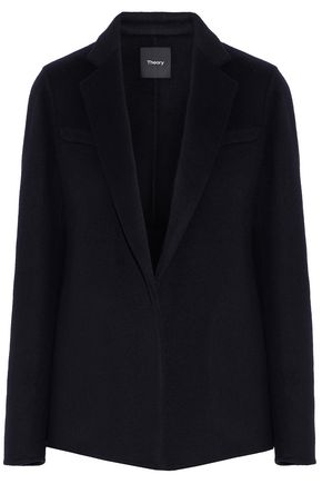 THEORY Wool and cashmere-blend blazer