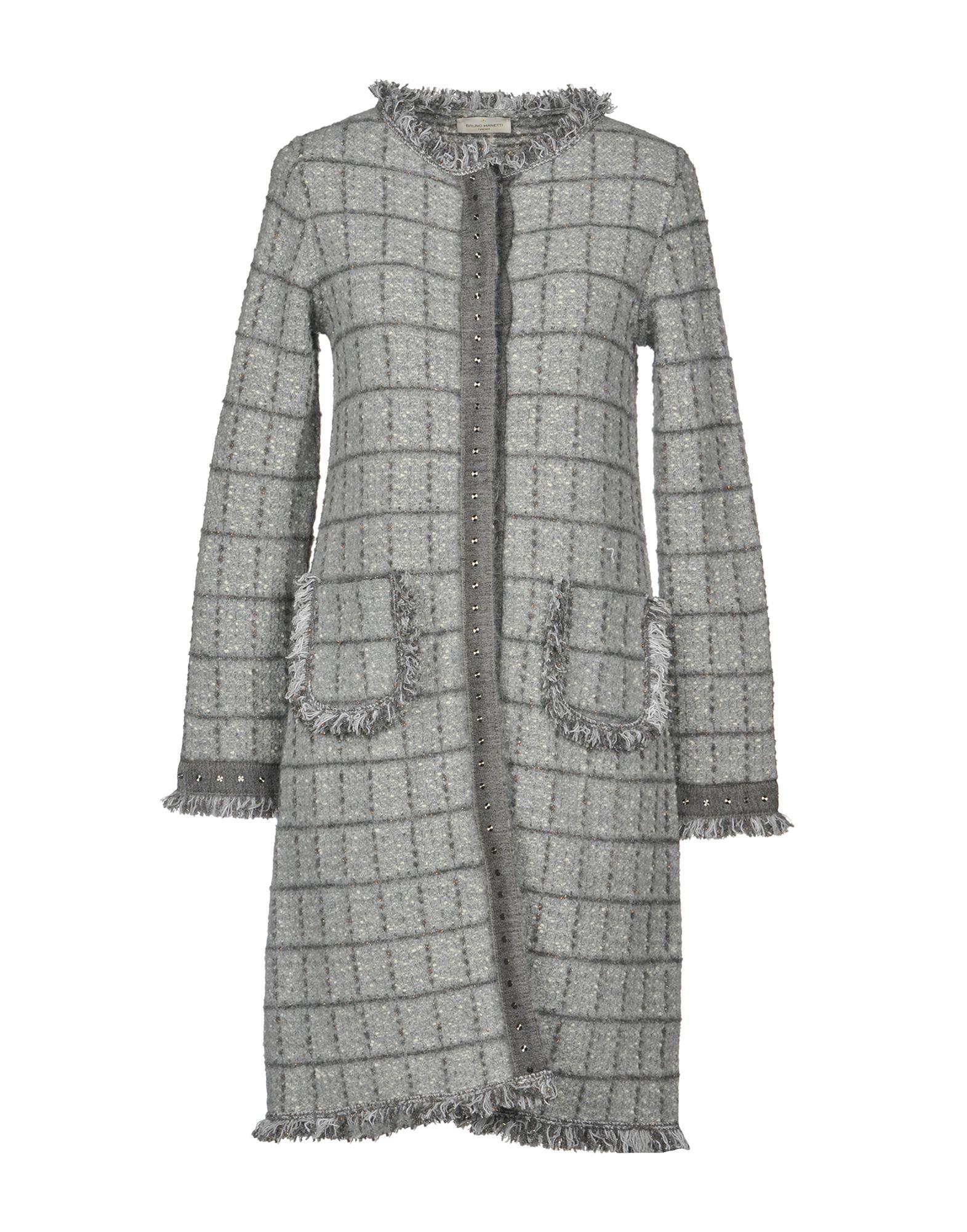 BRUNO MANETTI Full-Length Jacket in Grey