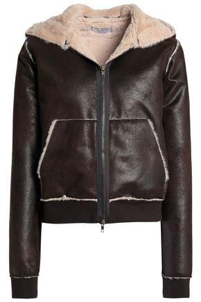 BAILEY 44 Faux shearling hooded jacket