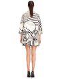 LANVIN Outerwear Woman JACQUARD WOOL COAT f