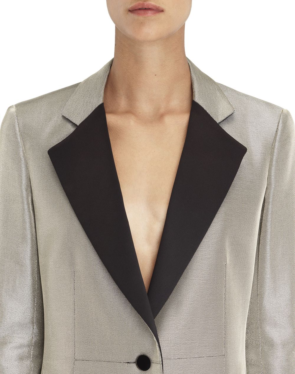METALLIC LUREX JACKET - Lanvin