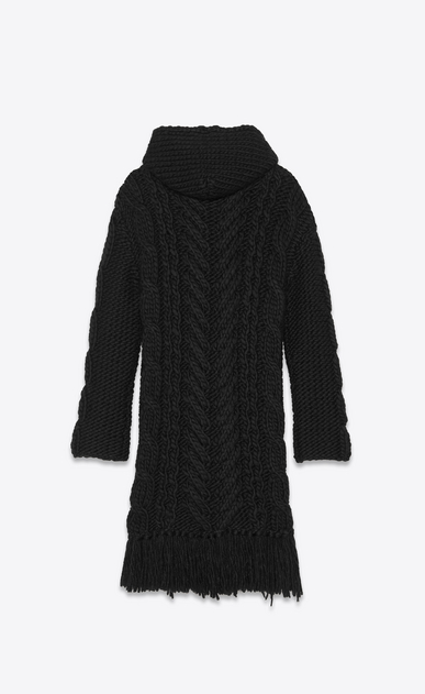 SAINT LAURENT Knitwear Tops Man long cable knit baja b_V4