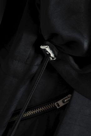 IRO Draped satin jacket