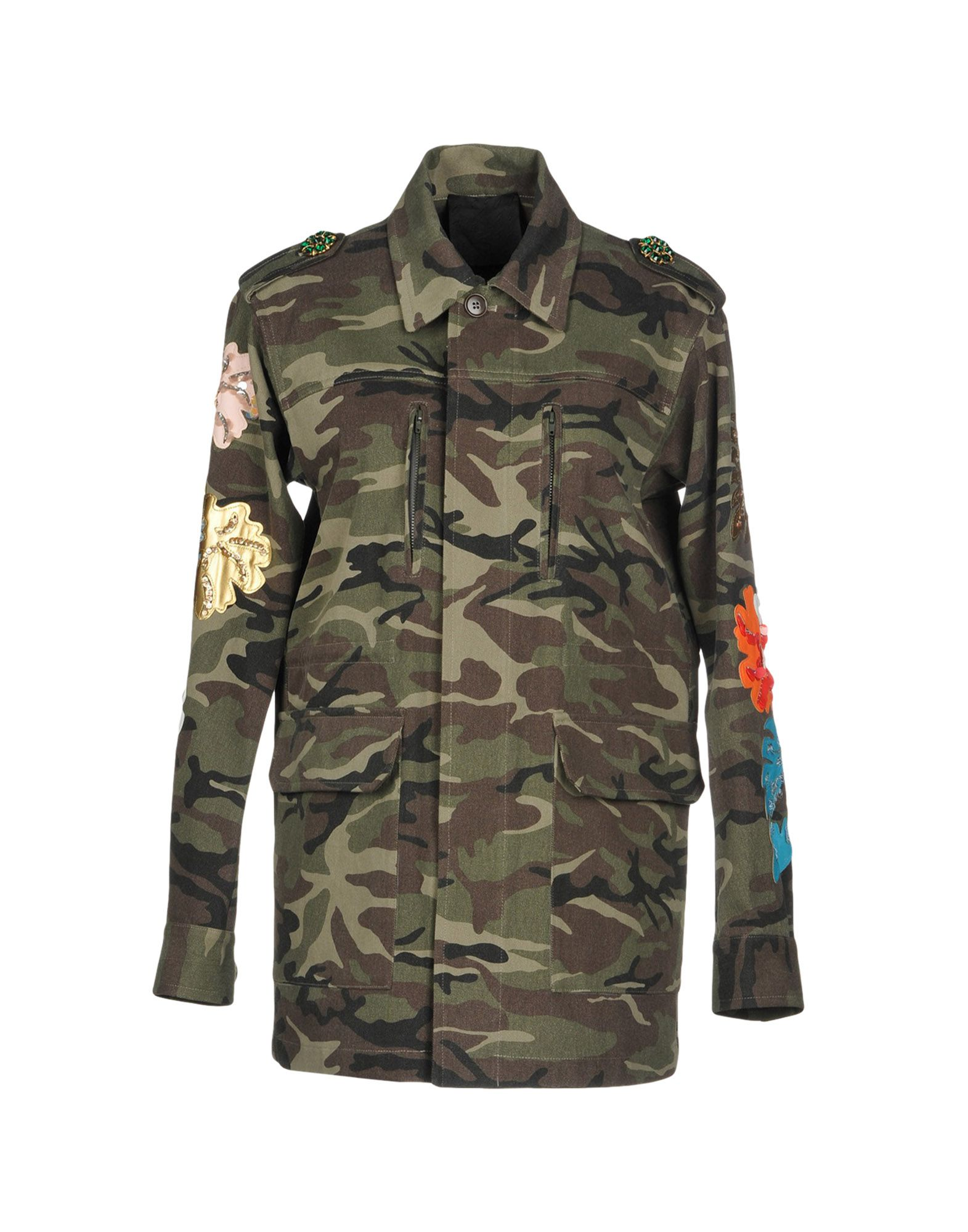TIGER IN THE RAIN Jacket in Military Green
