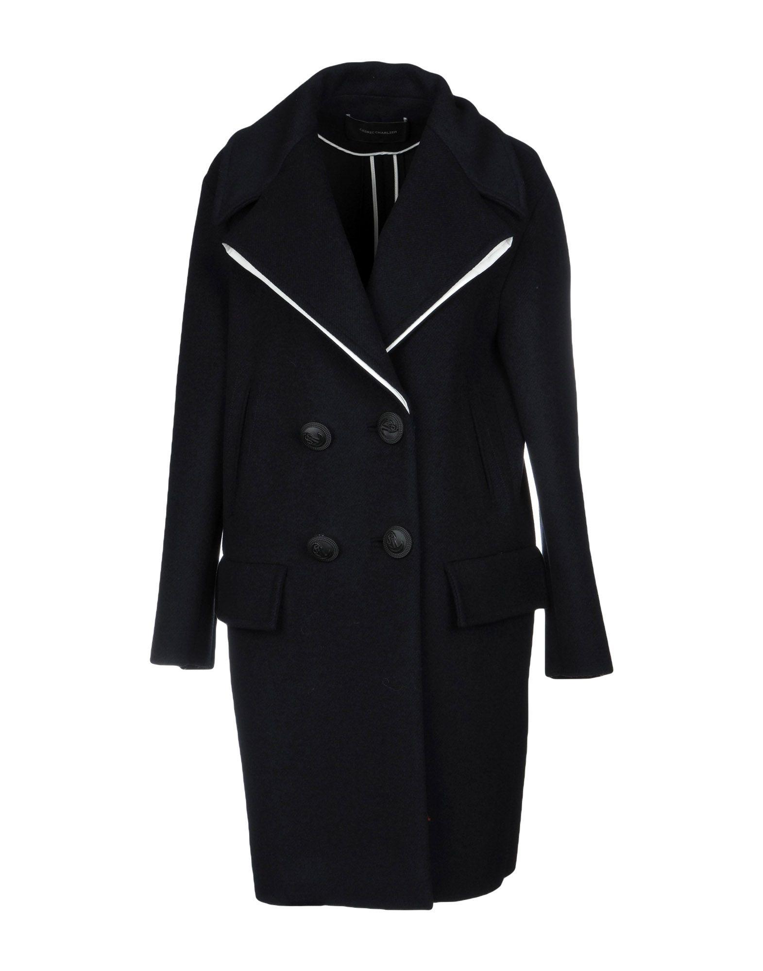 CEDRIC CHARLIER Пальто cedric charlier пиджак