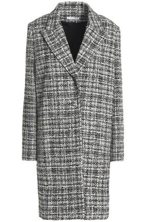 LANVIN Checked bouclé-tweed coat