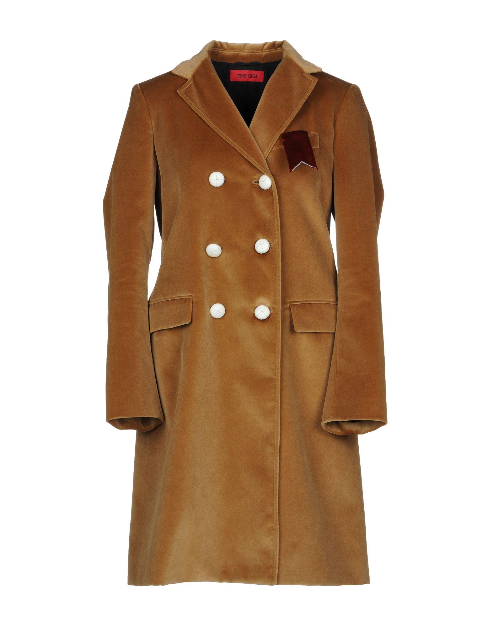 THE GIGI Пальто the gigi воротник
