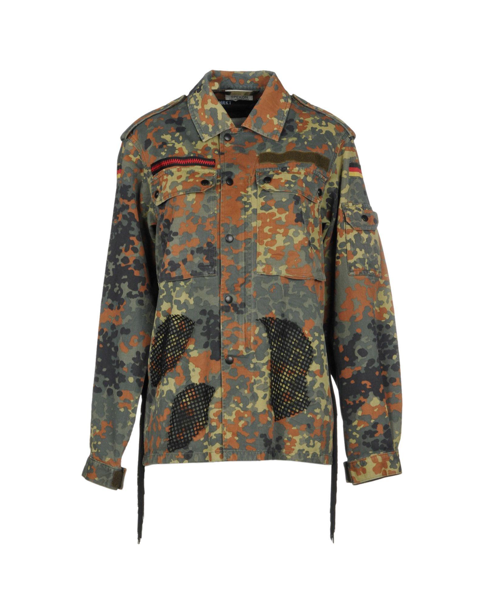 MINIMARKET Jacket in Military Green