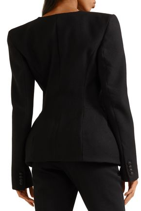 GARETH PUGH Padded wool peplum jacket