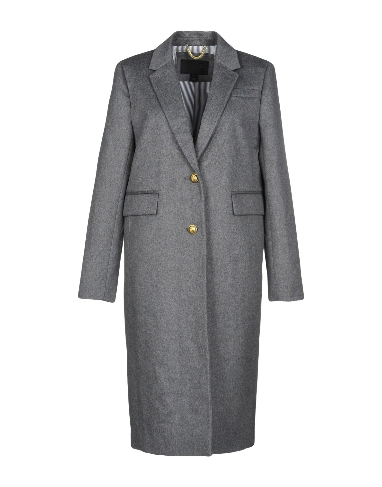 J.CREW Coats. baize, no appliqués, basic solid color, single-breasted, 2 buttons, lapel collar, multipockets, long sleeves, fully lined, rear slit, single-breasted jacket. 80% Wool, 20% Cashmere