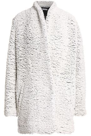 IRO Wool-blend bouclé coat