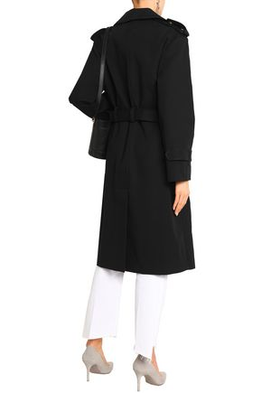 IRO Belted cotton-gabardine trench coat