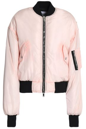 MSGM Shell bomber jacket