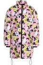 MSGM Floral-print shell coat