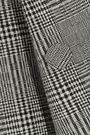 ELLERY Boycott fluted Prince of Wales checked wool blazer
