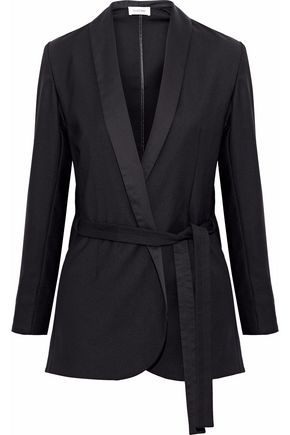 TOTÊME Belted twill blazer