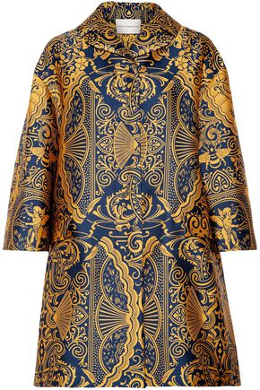 MARY KATRANTZOU Spence jacquard coat