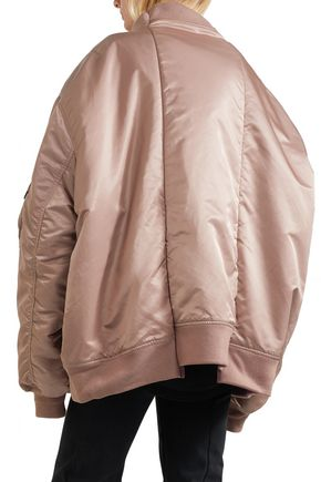 Vetements Jackets + Alpha Industries reversible oversized shell bomber jacket