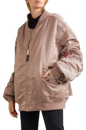 VETEMENTS + Alpha Industries reversible oversized shell bomber jacket