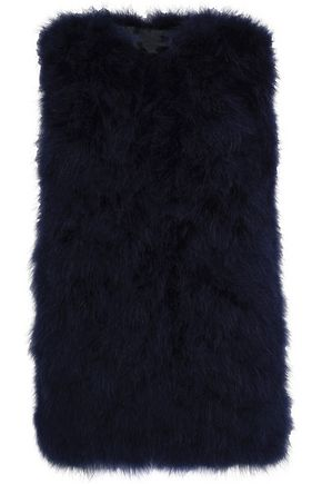 MSGM Feathered vest