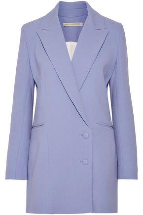 EMILIA WICKSTEAD Foster wool-crepe blazer