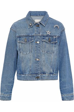 JOIE Embellished denim jacket