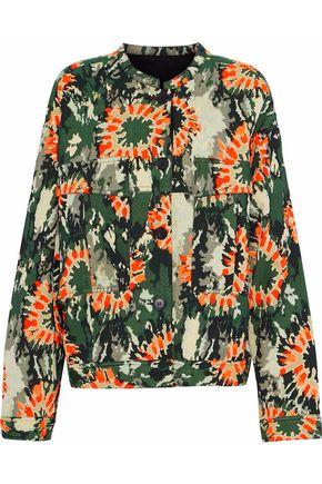 RAQUEL ALLEGRA Cotton-blend jacquard jacket