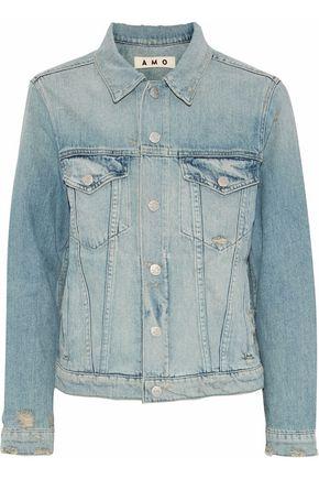 AMO Starboard distressed denim jacket