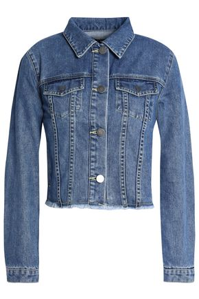 NICHOLAS Frayed denim jacket